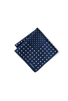 Country Road Square Dot Pocket Square
