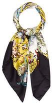 Hermes Sichuan Silk Scarf