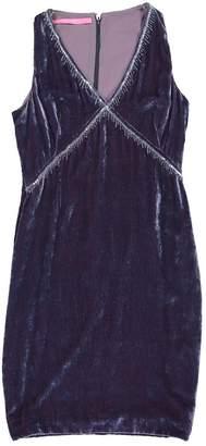 Ungaro Blue Velvet Dresses
