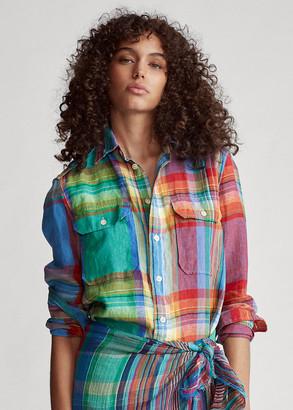 Ralph Lauren Linen Madras Shirt