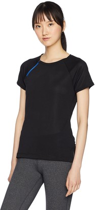 2xist Women's Mesh T-Shirt with Zipper Detail