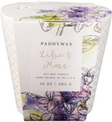 Paddywax Flower Market Collection Ceramic Candle - Lilac & Moss - 10 oz