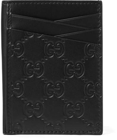 Gucci Embossed Leather Cardholder