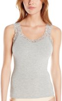 Fleurt Fleur't Women's Bottom Drawer Camisole, Heather Grey