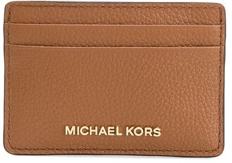Michael Kors pebbled-effect leather cardholder