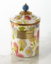 Mackenzie Childs MacKenzie-Childs Medium Morning Glory Canister