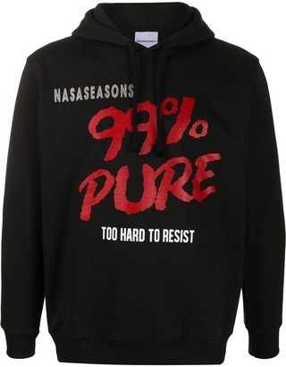 Nasaseasons Graphic-Print Long-Sleeved Hoodie