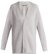 Vince V-neck wool and cashmere-blend cardigan