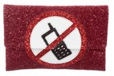 Anya Hindmarch Valorie No Mobiles Clutch