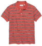 Lacoste Stripe Pique Polo