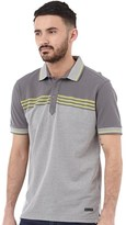 Duck and Cover Mens Midpoint Polo Slate
