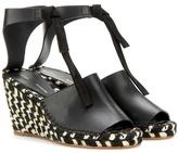 Proenza Schouler Leather Wedge Sandals