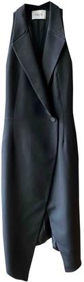 Pallas Black Wool Dresses