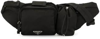 Prada Pre-Owned Triangle Logo Belt Bag