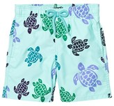 Vilebrequin Mint Green Turtle Trunks
