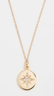 Shashi Starburst Coin Pendant Necklace