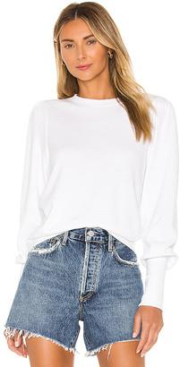Nation Ltd. Bethany Puff Sleeve Sweatshirt