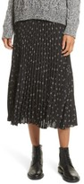 Vince Women's Tossed Ditsy Floral Pleated Skirt