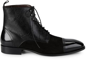 Mezlan 18688 Mixed Media Leather Boots