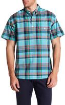 Bonobos Madeira Short Sleeve Print Slim Fit Shirt