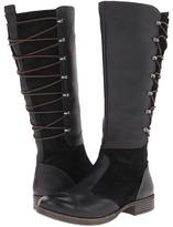 Naya Apollonia Wide Shaft (Black Leather) - Footwear