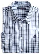 Brooks Brothers Boys' Mini Tattersall Sport Shirt - Big Kid