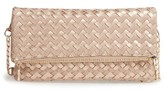 Sole Society Marlee Woven Clutch - Pink