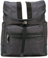 Bally single strap backpack - men - Leather/Nylon - One Size