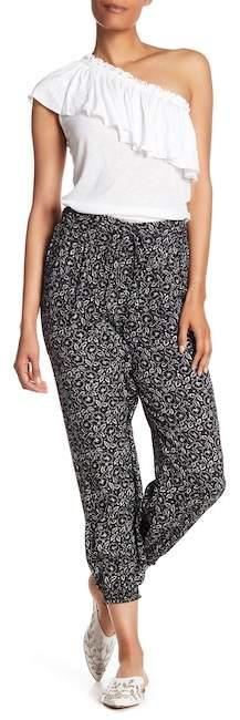 Rebecca Taylor Sweet Briar Pull-On Silk Pants