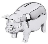 The Well Appointed House Reed & Barton Classic Silver Piggy Bank for Kids