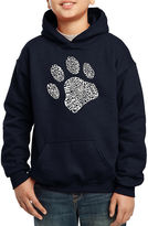 LOS ANGELES POP ART Los Angeles Pop Art Popular Dog Commands And Tricks Hoodie-Big Kid Boys