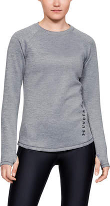 Under Armour Women's ColdGear Doubleknit Heather Long Sleeve