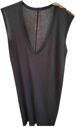 Rick Owens Brown Cotton Dresses