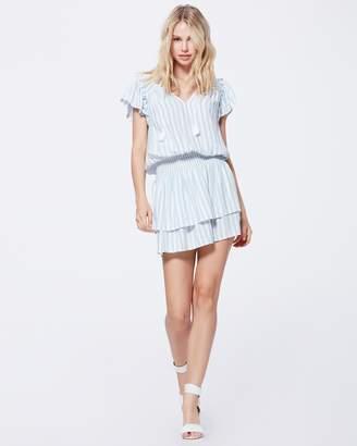 Paige CRISTINA DRESS-ICE BLUE - COVE STRIPE