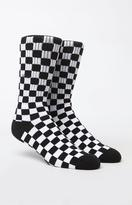 Vans Checkerboard Black & White Crew Socks