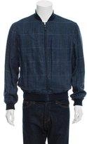 Etro Glen Plaid Bomber Jacket