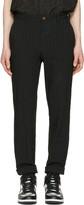 Comme des Garcons Black Striped Trousers