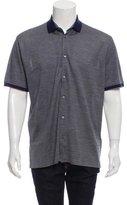 Ermenegildo Zegna Silk-Blend Polo Shirt w/ Tags