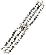 Nadri Venus Multi-Row Faux-Pearl Line Bracelet