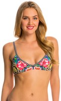 Red Carter Shangri La Reversible Bralette Bikini Top 8140147