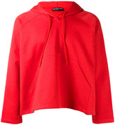 Balenciaga cropped hoodie