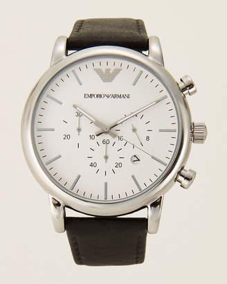Emporio Armani AR1807 Black & Silver-Tone Classic Watch