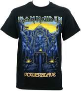 Global Iron Maiden Men's Dark Ink Powerslave T-Shirt S