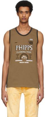 Phipps Brown Sport Tank Top