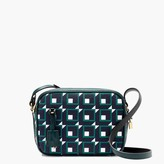 J.Crew Signet bag in shadowbox print