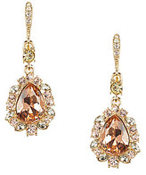 Givenchy Madison Silk & Jonquil Drop Earrings