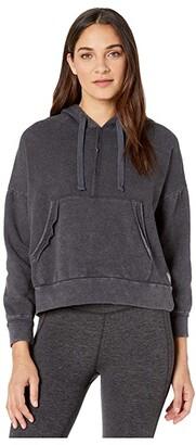 FP Movement Work It Out Hoodie (Black) Women's Sweatshirt