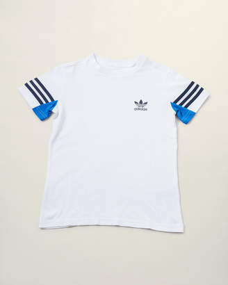 adidas Boys 8-20) Stripe Short Sleeve Tee