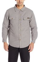 Dickies Men's Quilted Lined Flannel Over-Shirt