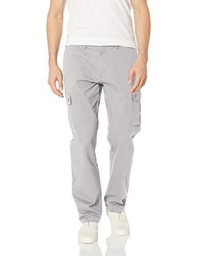 f11d45c12b512 Men's Straight-fit Stretch Cargo Pant